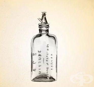 Поява на хлороформни бутилки за анестезия - изображение
