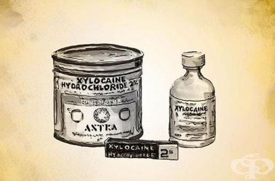 Поява на лидокаина на фармацевтичния пазар - изображение