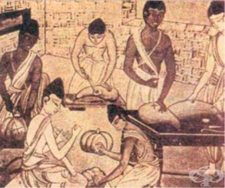 Познания на древните народи за ушните, носните и гърлените болести - изображение