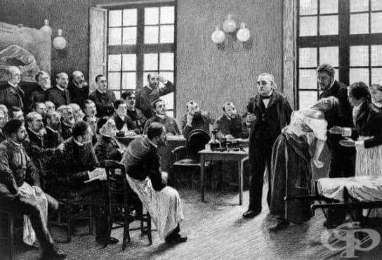 Представа за заболяването хистерия и методи за лечението му от 19-ти век   - изображение