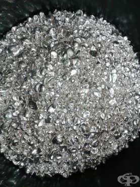 Принос на работата на д-р Симс в употребата на сребро в хирургията - изображение