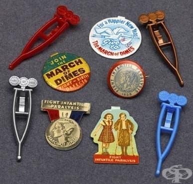 Приносът на благотворителната фондация на Франклин Рузвелт в борбата срещу полиомиелита - изображение