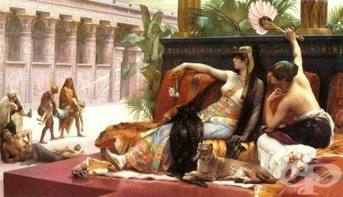 Протези и козметика в Древен Египет - изображение