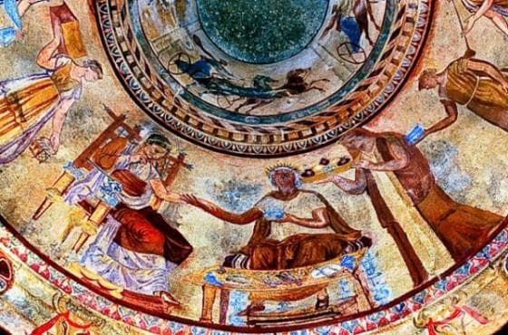 Произход на култа към бога на здравето Асклепий сред проткракийското население - изображение
