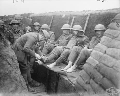 Заболяванията в окопите по време на Първата световна война - изображение