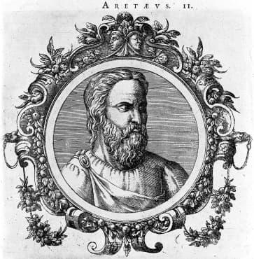 Първото подробно описание на диабета, направено от Аретей от Кападокия през II век - изображение
