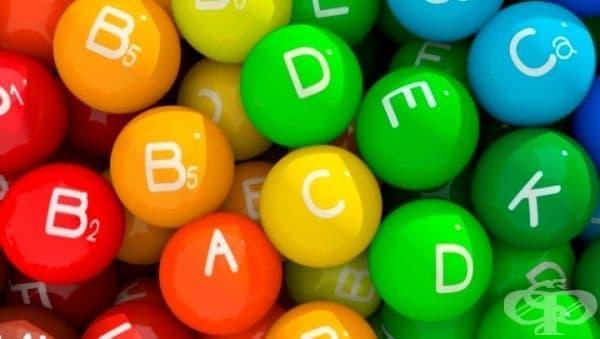 Работа от 1912 до 1920 година на учените, допринесла за откритието на някои основни витамини  - изображение