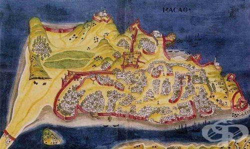 Разпространение на вариолата в испанските и португалските колонии - изображение