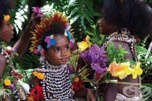 Разпространение на вариолата в Папуа Нова Гвинея - изображение