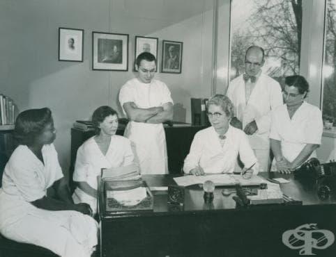 Разработване на първата успешна ваксина срещу коклюш  - изображение