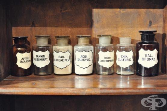 Разрастване на руските аптеки до 1910 година - изображение