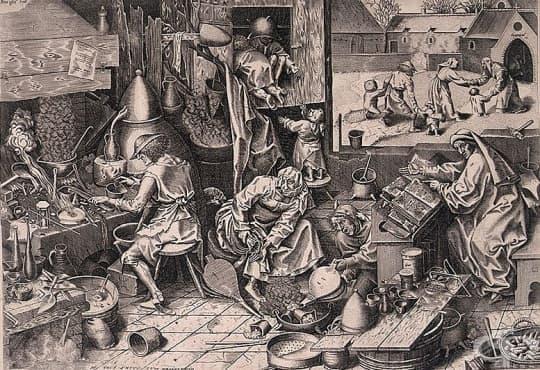 Развитие на алхимията в средновековна Европа - изображение