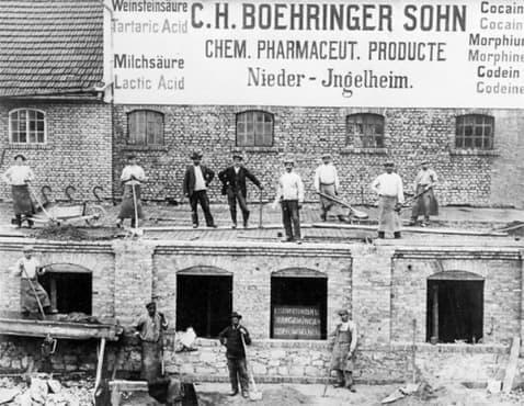 "Развитие на компанията ""Бьорингер Ингелхайм"" от 1902 година до 1917 година - изображение"
