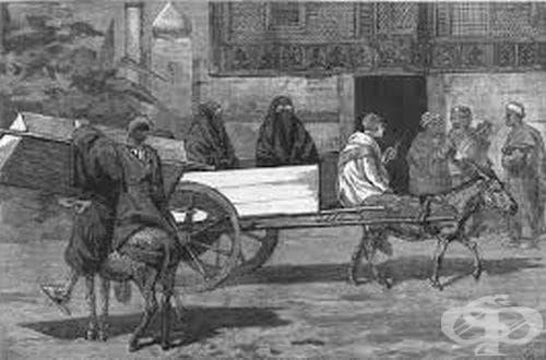 Разпространение на Втората холерна пандемия от 1826 до 1832 година - изображение