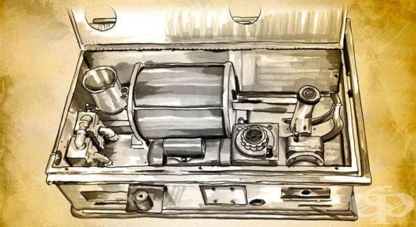 Респиратор на Морх от 1954 година - изображение