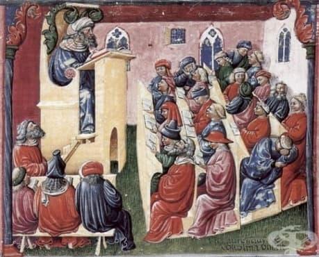 Средновековно медицинско обучение в Европа, част 2 - изображение