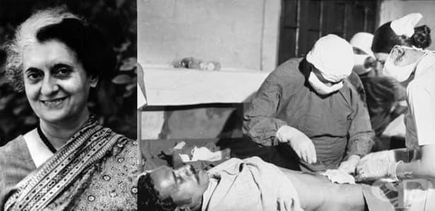 Масовата стерилизация на индийското население, инициирана преди 40 години от Индира Ганди - изображение