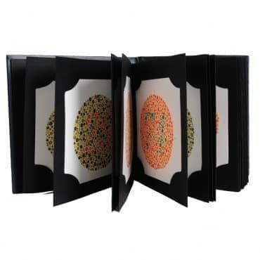 Създаване на тестовете за диагностициране на цветна слепота на Шинобу Ишихара - изображение
