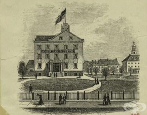 """Създаване на болницата """"Bellevue"""" в Ню Йорк  - изображение"""