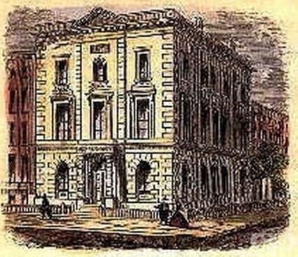 """Създаване на """"New York Eye and Ear Infirmary"""" през 1820 година  - изображение"""