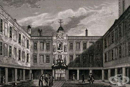 """Създаване на болницата """"Сейнт Томас"""" от 12-ти век   - изображение"""