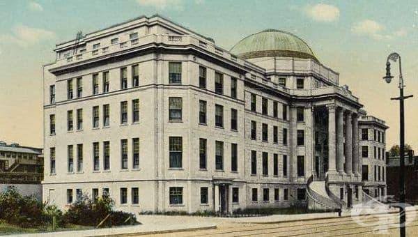 """Създаване на детската болница """"Boston Children's Hospital"""" през 1896г.  - изображение"""