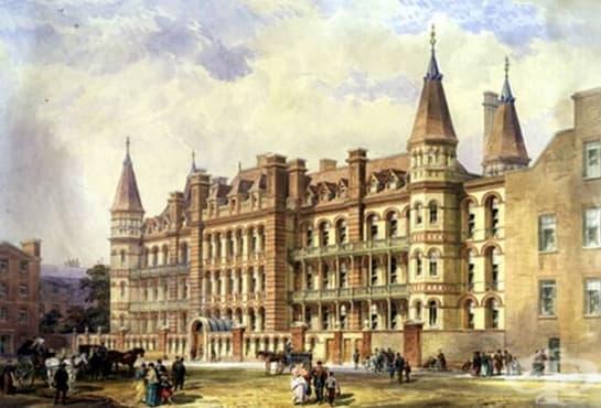 Създаване на първата болница за деца в Лондон през 1852г. - изображение