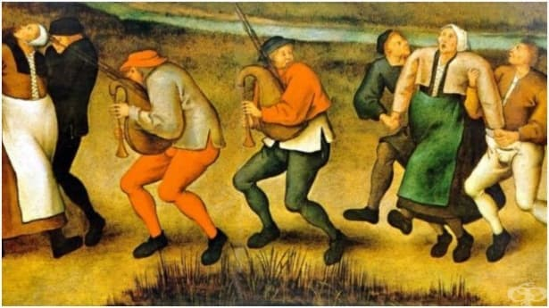Танцувалната чума: масова психоза, отравяне или паранормално явление - изображение