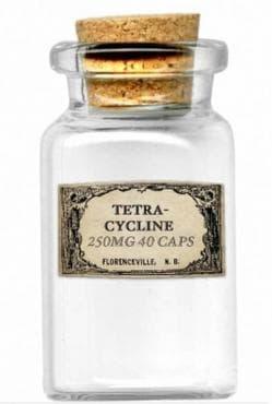Тетрациклин от 1949 година: антибиотикът, синтезиран от актиномицети   - изображение