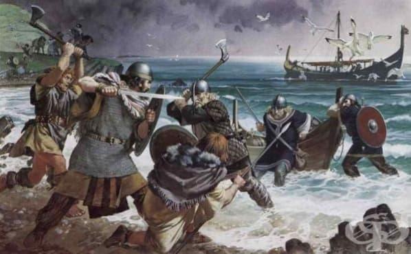 Военната медицина на викингите - изображение
