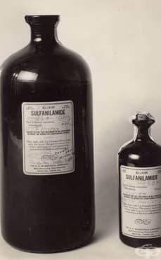 """Трагедия от 1937 година, предизвикана след пускането в продажба на лекарството """"Elixir Sulfanilamides""""  - изображение"""