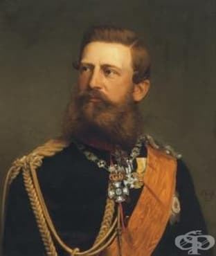 Трахеостомия на германския крал Фридрих III, извършена през 1888 година - изображение