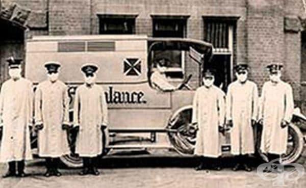 Зимата и пролетта на 1919 г. – трета епидемична вълна от инфлуенца в Испания  - изображение
