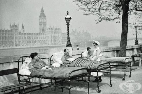 Туберкулозата в Европа до края на 19-ти век   - изображение