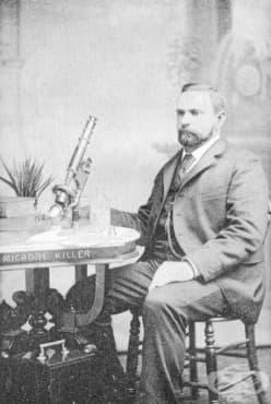 Уилям Рейдъм и неговият убиец на микроби  - изображение