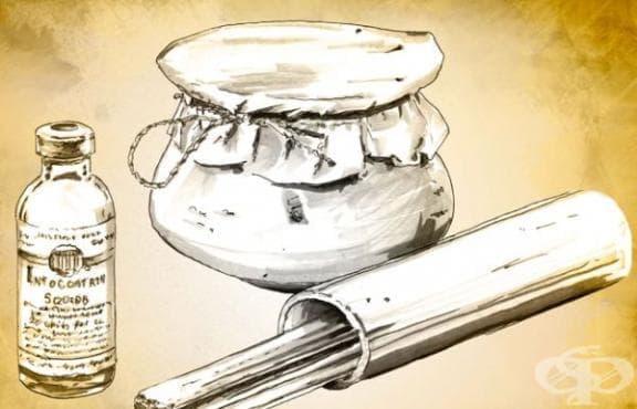 Употреба на курарето като мускулен релаксант  - изображение