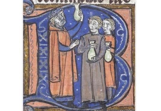 Урината като средство за диагностициране на заболявания през Средновековието - изображение