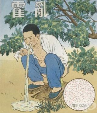 Влияние на Първата холерна пандемия на Китай - изображение