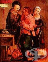 Времева линия, описваща развитието на стоматологията през вековете - изображение