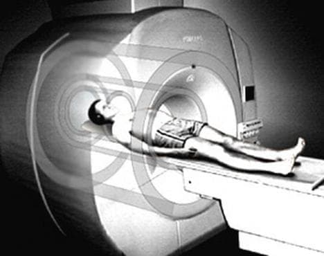 Времева линия, отразяваща откритието и утвърждаването на ядрено-магнитния резонанс - изображение