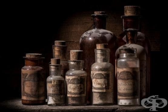 Времева линия, отразяваща развитието на фармацията до 303 година  - изображение