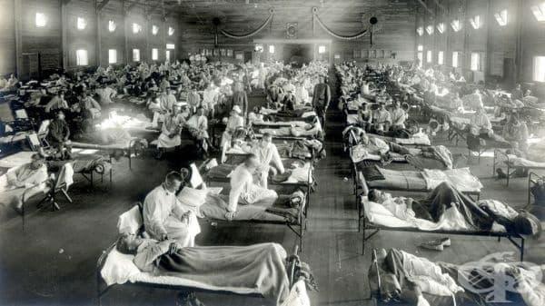 Есента и зимата на 1918 г. – втора епидемична вълна от инфлуенца в Испания  - изображение