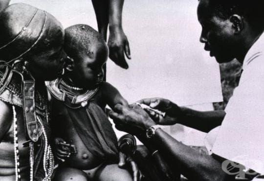 Въвеждане на комбинираната ваксина срещу дифтерия, тетанус и коклюш в САЩ  - изображение