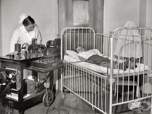 Въвеждането на електрокардиограмата в болничните заведения в началото на 20-ти век - изображение