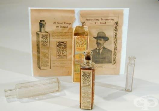 Змийското масло на Кларк Стейнли   - изображение