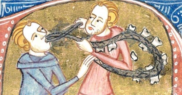 Грижите за зъбите и устната хигиена през Средновековието - изображение