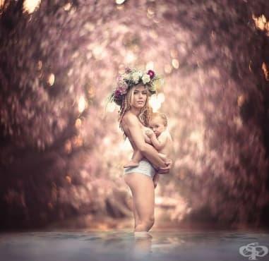 Кърмене и козметични процедури - изображение