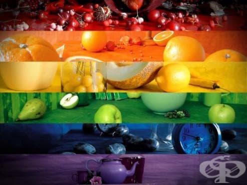 Как цветът на хранителните продукти влияе върху здравето ни? - изображение