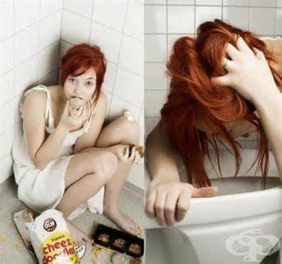 Хранене при булимия - изображение