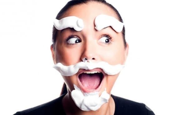 Хранене при хирзутизъм (патологично окосмяване при жени) - изображение